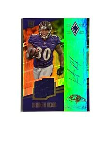 Details about 2016 Panini Kenneth Dixon Jersey Auto RC /99 #224