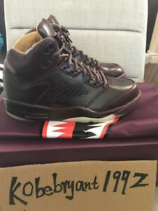 4155c82b3f60 AIR JORDAN 5 V RETRO PREMIUM BORDEAUX PINNACLE 881432-612 MENS SIZE ...