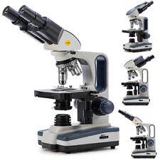 Swift 40x 2500x Binocular Compound Microscope With Mechanical Stage Fine Focusing