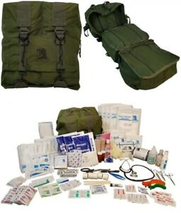 ELITE FIRST AID M17 STOCKED Corpsman Medic Bag Trauma Kit Military Survival ODG