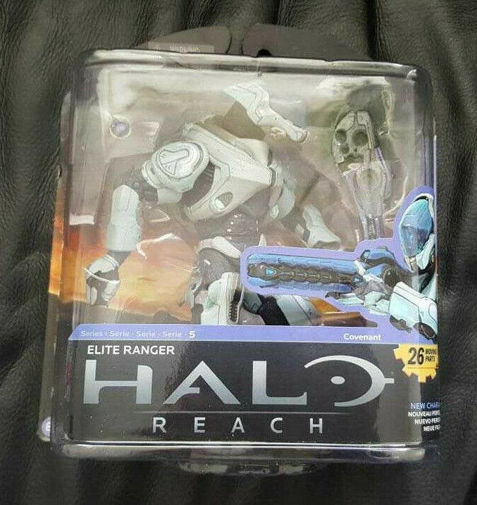 McFarlane HALO Reach Reach Reach Series 5 Elite Ranger figure Xbox 360 - Rare e467e9