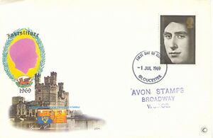 2414-034-FIRST-DAY-OF-ISSUE-GLOUCESTER-034-CDS-single-ring-26-mm-superb-FDC-1969