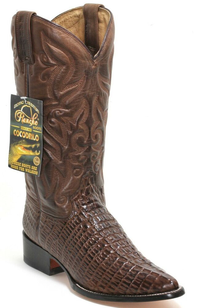 12 Bottes De Cowboy Western Texas Broderie Catalan Style Crocodile 39