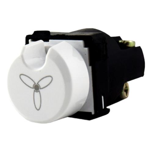 Vynco 4 Speed Position Rotary Fan Controller Mech Switch Mechanism Light 88M4F