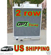 2CORES Suzuki Swift GTi/GS/GT/GL/GLX 89-1994 Aluminum Radiator MT 90 91 92 93 94