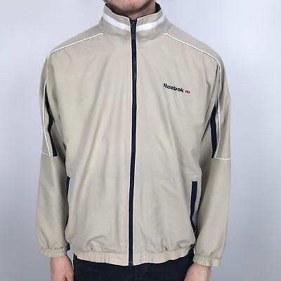 0ce6f089e37bd Vintage 80s/90s REEBOK Track Jacket | Classic Sport Retro | XS Beige | eBay