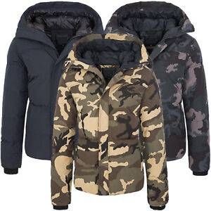 Details zu Herren Outdoor Winterjacke Camouflage Jacke Jagdjacke Kapuze warm S XXL H 128