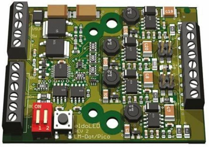 Eldoled LMP40551,Konstant Aktuelle DMX512A,Ledsync LED Treiber 50W 17.5 †' 35V