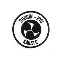 Shorin-ryu Karate Martial Arts Patch - 3.5 P1225