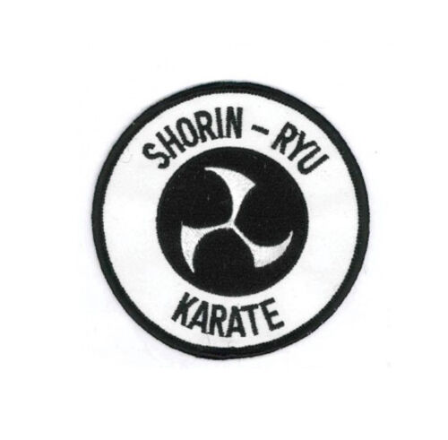"3.5/"" P1225 Shorin-Ryu Karate Martial Arts Patch"