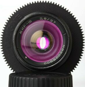 Anamorphic-flare-amp-Bokeh-Lens-37-mm-F2-8-Mir-1v-Cine-CANON-EF-mount-Wide-Angle