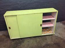 Retro Vintage Kitchen Wall Shelves Cupboard Unit