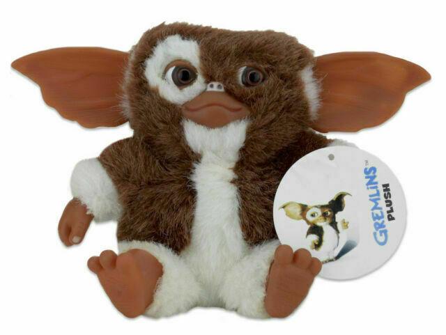 "NECA GREMLINS The Movie Gizmo Mogwai Smiling 8"" Plush Toy Doll Figure NEW"
