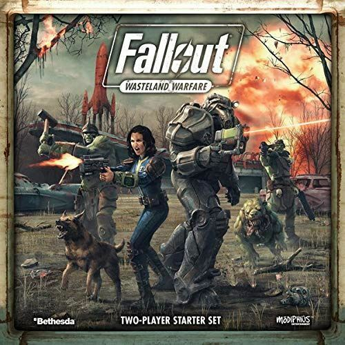 Modiphius Entertainment Fallout  Wasteland Warfare, Game
