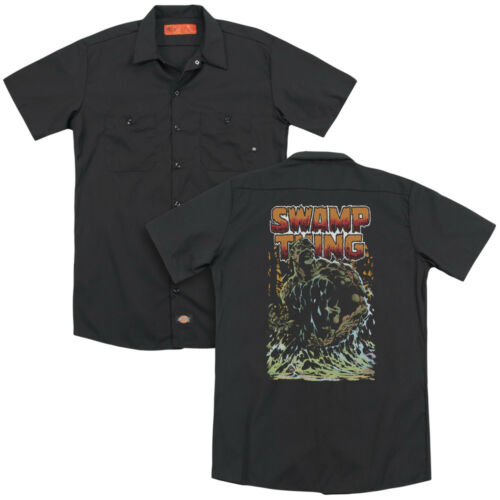 SWAMP THING Classic Comic Cover Vintage Style Dickies Work Shirt All Sizes