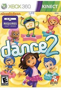 Nickelodeon-Dance-2-Xbox-360-Kids-Kinect-Game-Dora-The-Explorer-Workout-Dancing