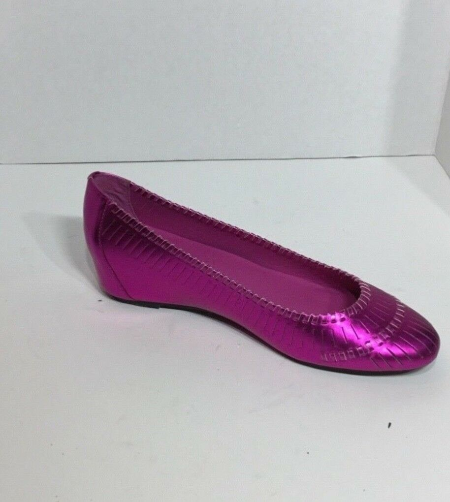 femmes's Kelsie Dagger Fabricea Neon rose Flats chaussures Taille 10 10 10 c8c43f