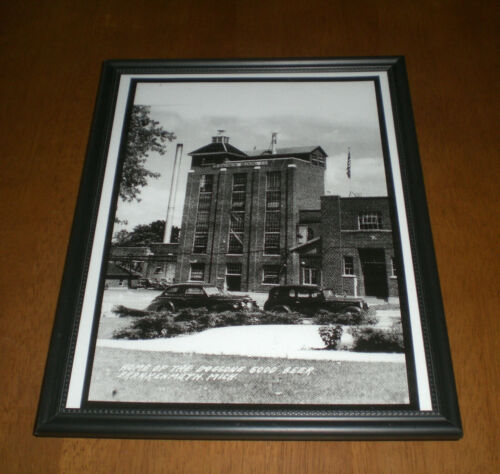 GEYER BROTHERS YOUR CHOICE GEYER/'S FRANKENMUTH LAGER BEER FRAMED PRINT