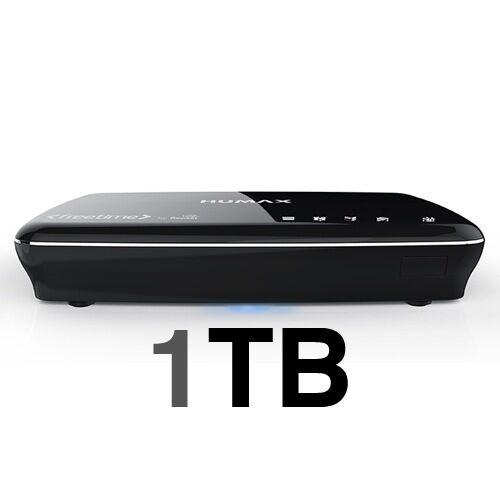 Freesat+ HDHumax HDR-1100S Black 1000GB/1TBPVR Freetime 7 Day Catch Up TV
