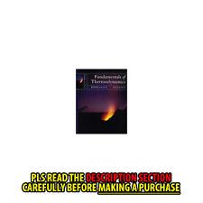FAST SHIP: Fundamentals Of Thermodynamics 7E by Claus Borg