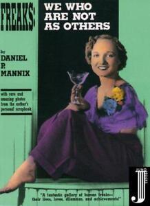 Freaks-We-Wer-ist-nicht-wie-andere-von-Daniel-P-Mannix-Taschenbuch-97809651