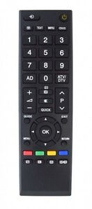 Replacement TV Remote Control for Toshiba 46RV555DB 46XV555D 46XV555DB 46ZV555D