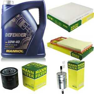Motor-Ol-5L-MANNOL-Defender-10W-40-MANN-FILTER-Filterpaket-Seat-Ibiza-IV1-6