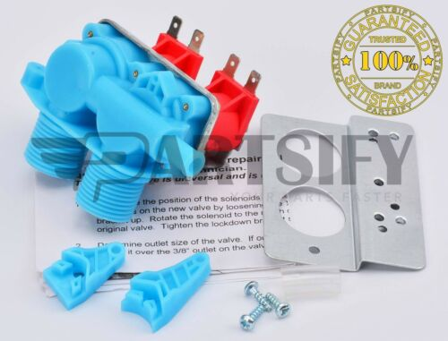 SEARS NEW 3360396 WASHER WATER INLET VALVE FITS WHIRLPOOL ROPER KENMORE