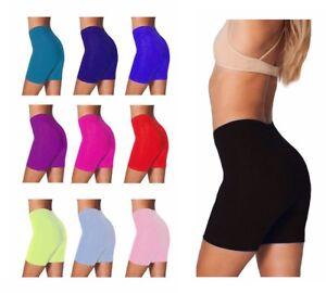 Mujer Nina Lycra Algodon Ciclismo Baile Pantalones Cortos Leggings Shorts Casual Ebay