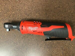 BRAND NEW !!! Tool Only Milwaukee 2457-20 M12 12V 3//8 Inch Cordless Ratchet