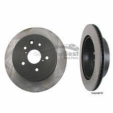 For Lexus GS300 GS350 IS250 IS350 Set of 2 Rear Disc Brake Rotors Meyle 40430006