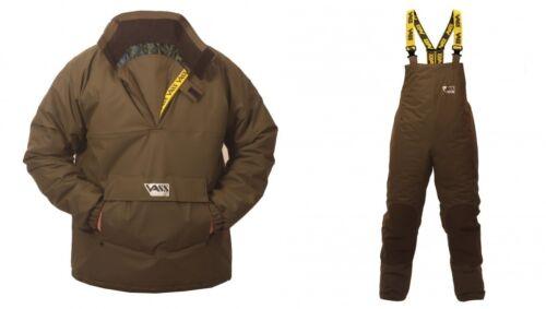 VASS 175 Winter Bib & Brace con Smock (Khaki Edizione)