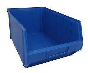 plastic parts storage box bin extra large x10 ebay. Black Bedroom Furniture Sets. Home Design Ideas