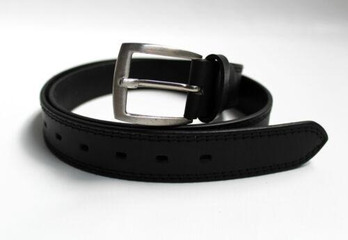 Echt Leder Gürtel Qualität in Leder NEU Ledergürtel in schwarz und braun