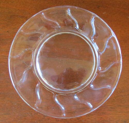 "s Fostoria Jamestown Crystal Clear 8"" Salad//Dessert Plate"