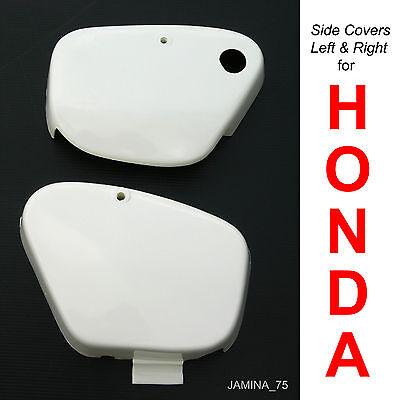 HONDA CT200 CT90 CT90K0 SIDE COVER *STAINLESS STEEL* LG2226 V