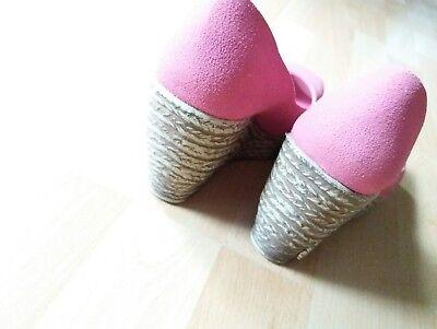 Keilschuhe - Damenschuhe - Größe 36 - Neu - Pink/Rosa