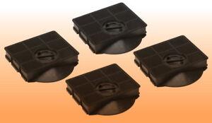 4 aktivkohlefilter filter dunstabzugshaube typ 303 passend für