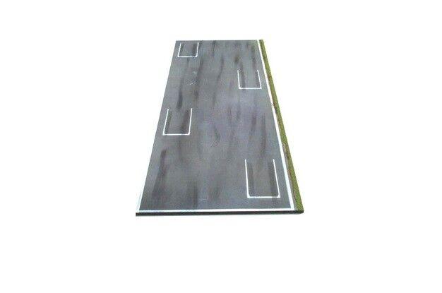 Diorama  water rouge-grid departure-starting grid (70 x 26 cm)  nouvelle exclusivité haut de gamme