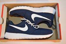 Nike Roshe One Mens 511881-423 Obsidian Blue White Mesh Classic Shoes Size 12