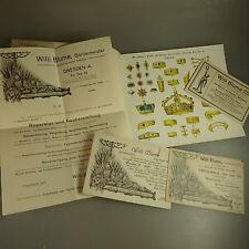 Katalog Schmuck Diademe Requisiten Gürtlermeister um 1880 (42245)