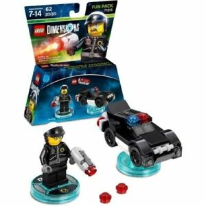 NEW-The-LEGO-Movie-Bad-Cop-Fun-Pack-LEGO-Dimensions-Wii-U-Xbox-One-360-PS4-PS3