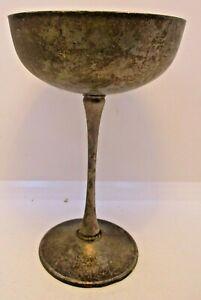 Eales-1779-Silverplate-Goblet-Engraved-034-Linda-8-27-72-034-Vintage