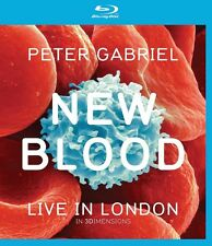 PETER GABRIEL - NEW BLOOD: LIVE IN LONDON (BLURAY) EAGLE VISION  BLU-RAY NEU