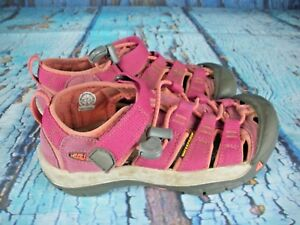 Keen-Newport-H2-Pink-Waterproof-Sport-Sandals-Shoes-Youth-Girl-039-s-Size-1