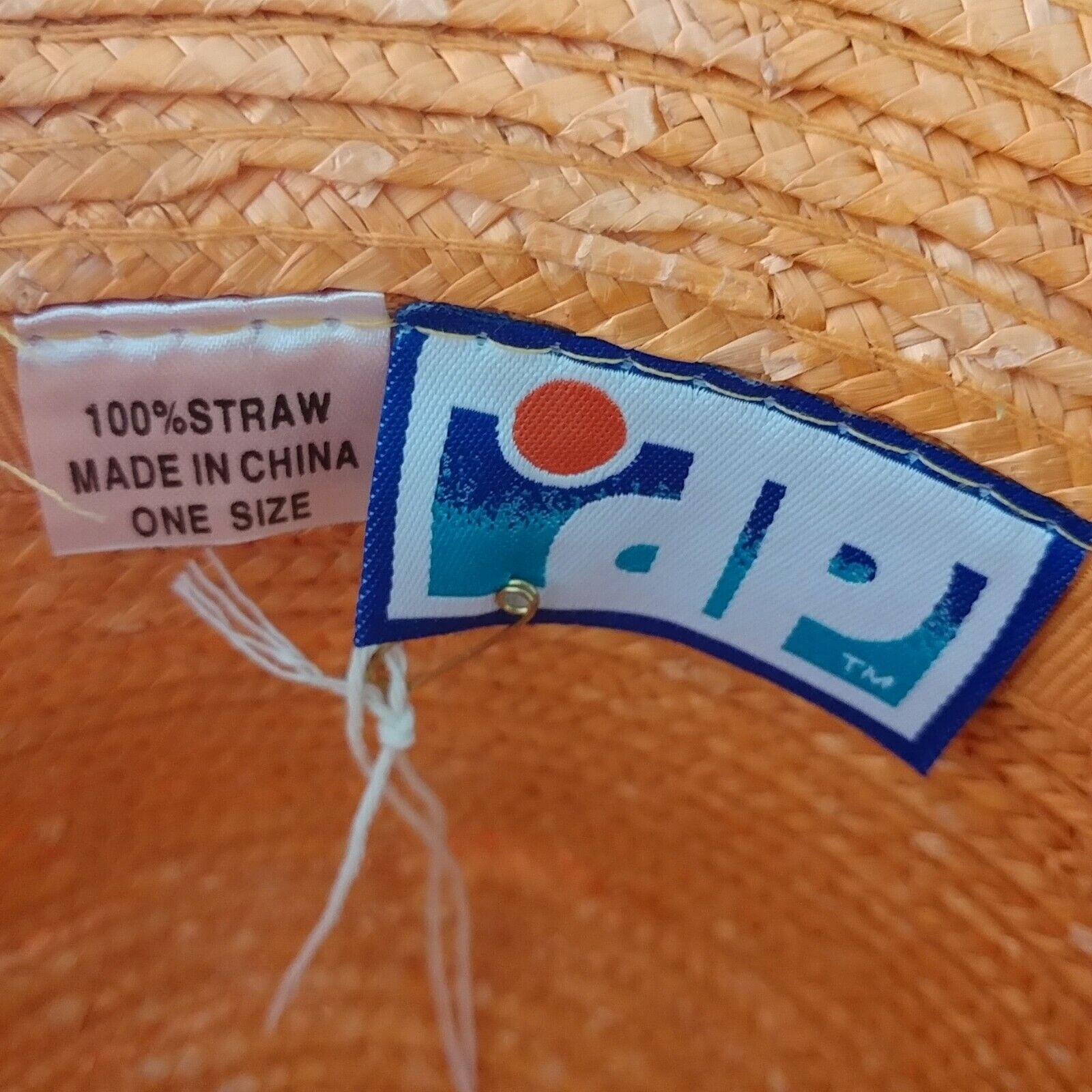 DP Brand Wide Brim Straw Hat - image 6