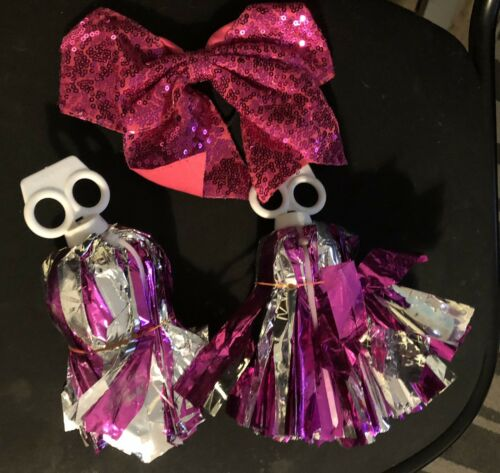 Details about  /zombie cheerleader costume sized for girls 5-6
