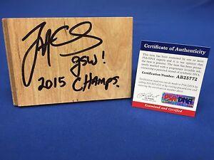 Jarron Collins Signed Floor Board