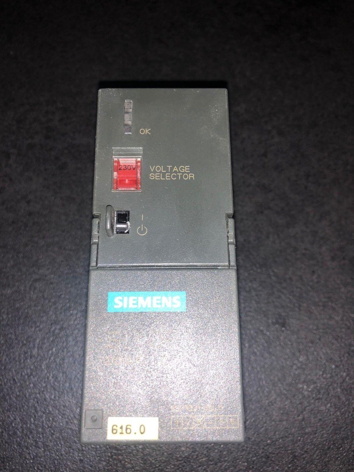 Siemens Voltage Selector 1P 6EP1 331-1SL11