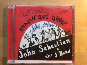 Chasin-039-Gus-039-Ghost-SIGNED-By-John-Sebastian-amp-the-J-Band-Audio-CD-Jun-1999